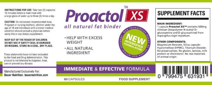 proactol ingredients